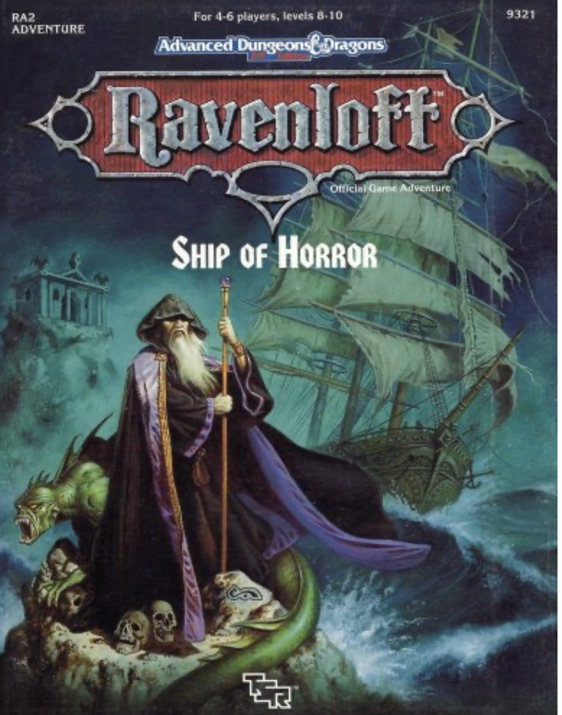 Image for Ship of Horror (AD&D 2nd Ed Fantasy Roleplaying, Ravenloft Setting, RA2)