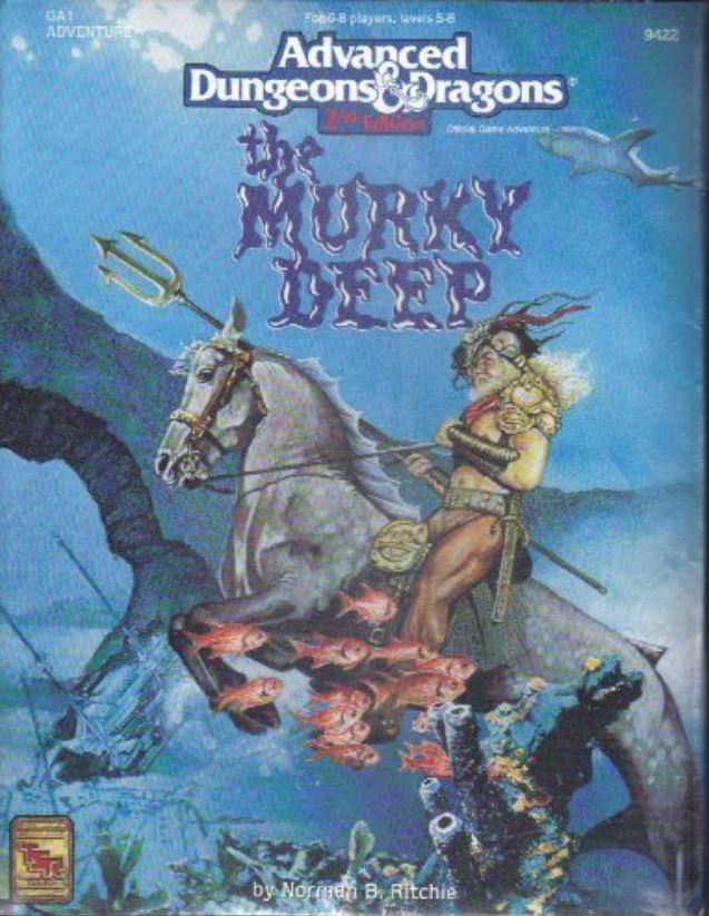 Image for The Murky Deep Ga1 (Ad&d Game Adventure)