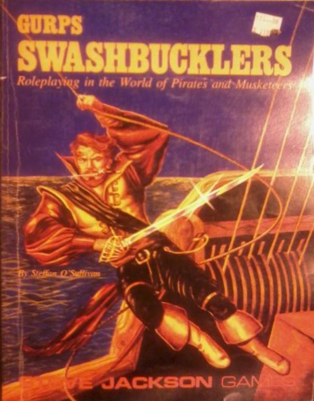 Image for Gurps Swashbucklers: Roleplaying in the World of Pirates and Musketeers