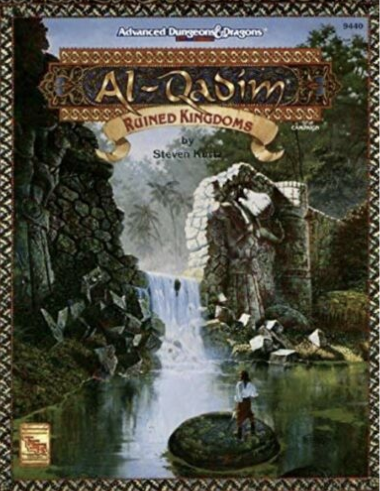 Image for Ruined Kingdoms (AD&D 2nd Ed Fantasy Roleplaying, Al-Qadim Setting, #9440