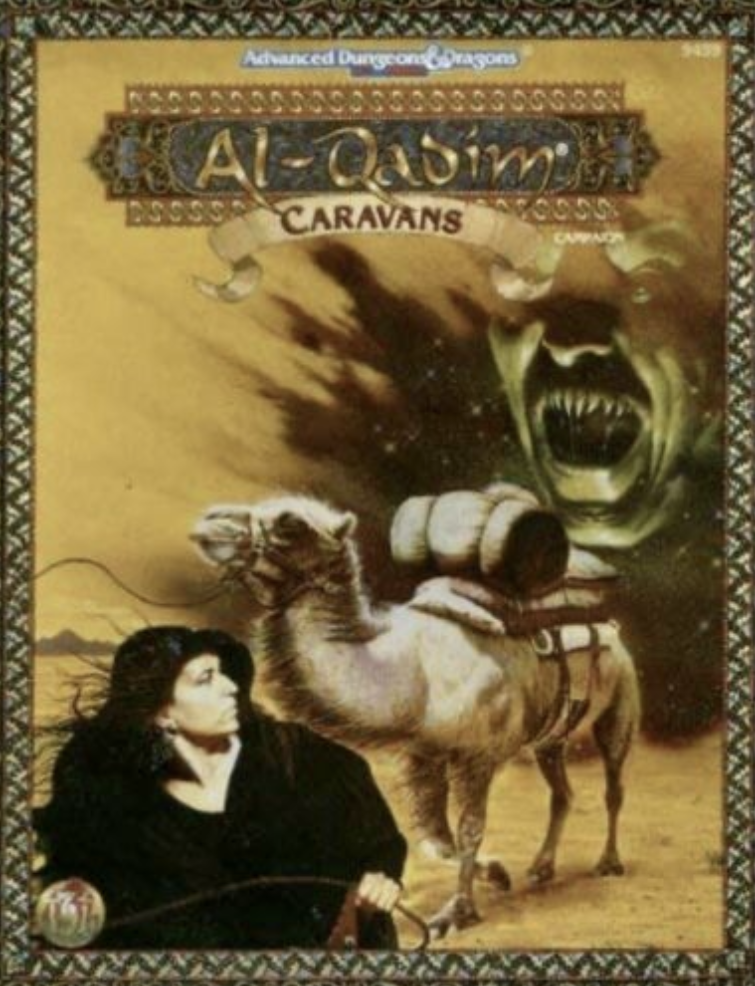 Image for Caravans (AD&D Fantasy Roleplaying, Al-Qadim)