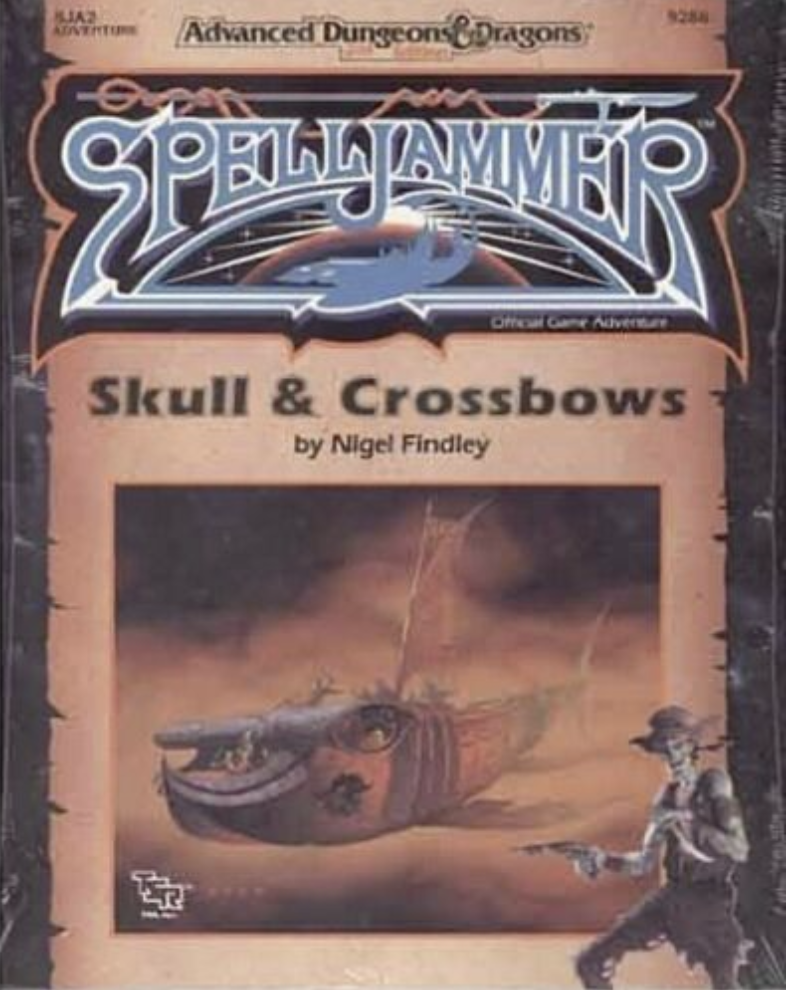 Image for Skull and Crossbows (Advanced Dungeons & Dragons/Spelljammer Module SJA2)